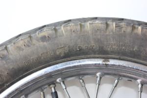 Motorcycle tyre date code