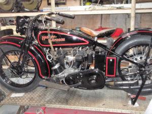 1929 Harley Davidson Restored