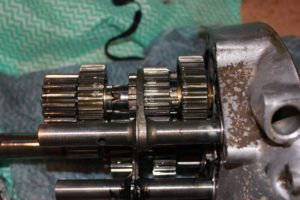Ariel 4GMKII gearbox