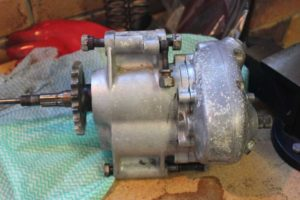 Ariel SQ4 gearbox