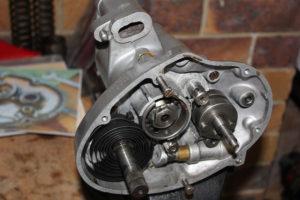 Burman GB gearbox reassembly
