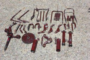 Ariel Square Four Frame Parts