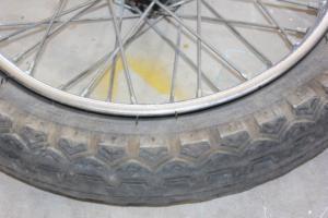 Ariel wheel removal