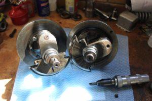 Ariel 4GMK2 crankshaft oil plug