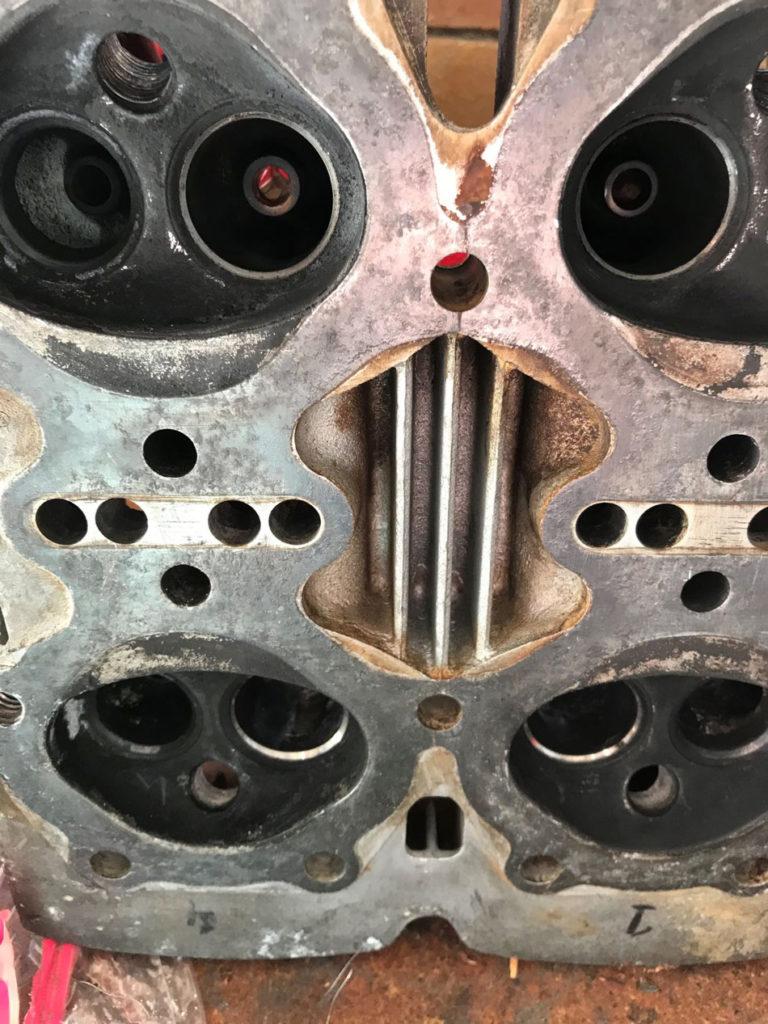 Ariel Sqaure Four Cylinder Head