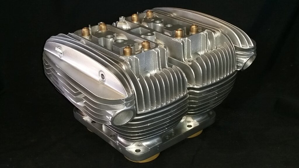 Ariel Square Four MKII engine restoration