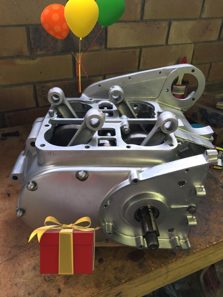 Ariel Square Four MKII Engine overhaul