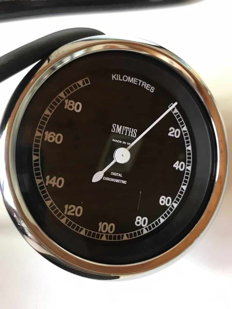 Smiths Chronoelectric GPS speedometer